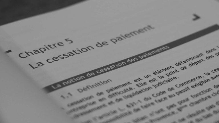 Qu'est ce que la cessation de paiements ?